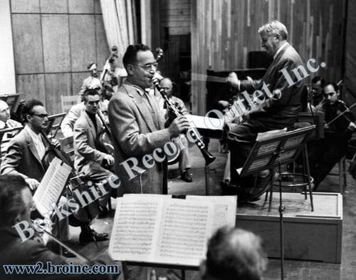 Benny Goodman, Charles Munch & the Boston Symphony Orchestra