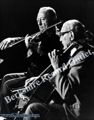 Jascha Heifetz and Gregor Piatigorsky